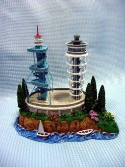 画像1: 新旧江ノ島灯台